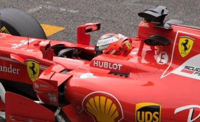 Kimi Räikkönen, Ferrari SF70-H detail