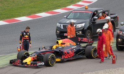 Max Verstappen, Red Bull Racing RB13, breakdown