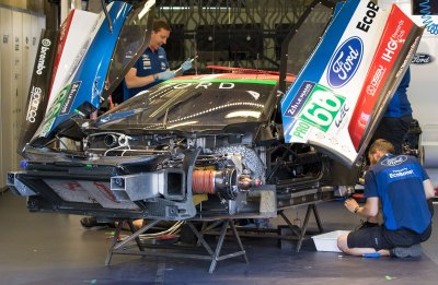Ford GT preparation