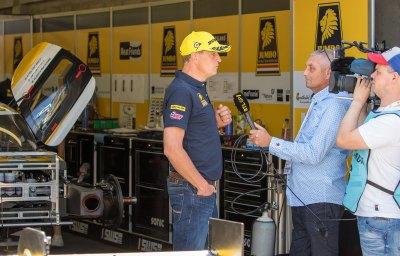 Racing Team Nederland driver Frits Van Eerd