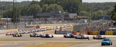 24 Hours of Le Mans formation lap