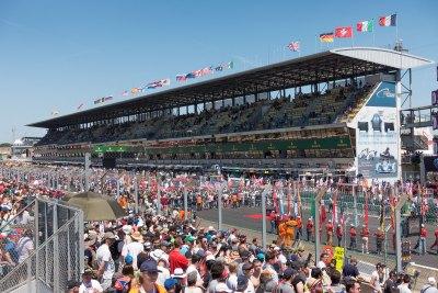 Pre-race start proceedure