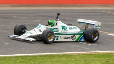 Williams Ford FW07B, 40 Years of Williams