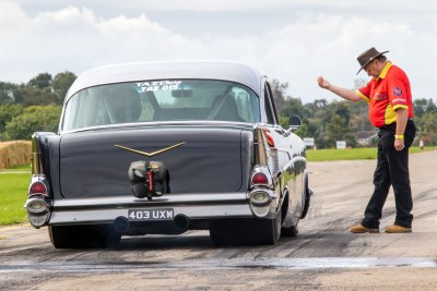 Staging, Chevrolet Bel Air, Sywell Classic