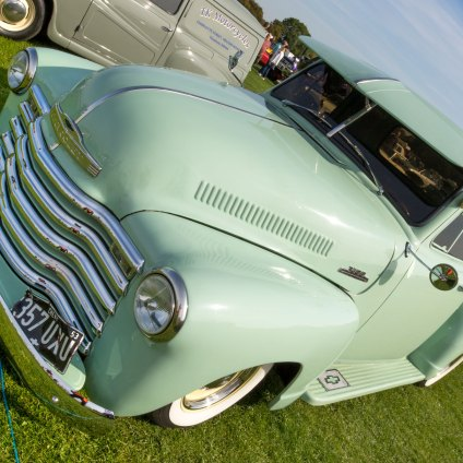 Chevrolet 3100, Sywell Classic Pistons and Props show Sept 23 - 24 2017, Sywell Aerodrome, Northamptonshire, England