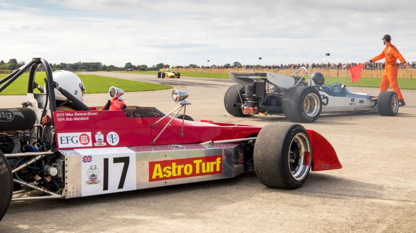 Chevron B27 and Surtees, Sywell Classic