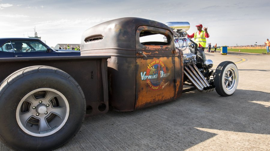 Hot rod at Sywell Classic