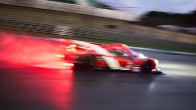 Ligier JSP3 in the wet at night, Circuito Estoril