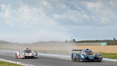 Norma M30 followed by Ligier JSP3