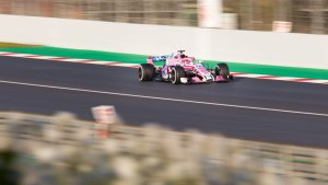 Esteban Ocon, Force India, Formula 1 testing, Barcelona 2018