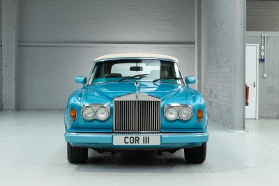 Front view of 1990 Rolls Royce Corniche III