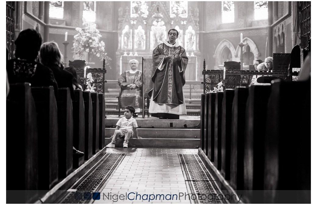 Albert's Christening At All Saint's Church Whetstone – 10 July 2016