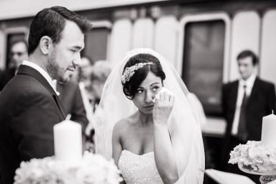 Buckinghamshire Wedding Couple Tears