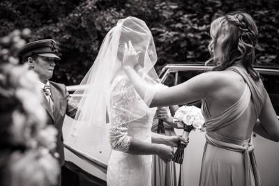 Buckinghamshire Wedding Bride Arrival
