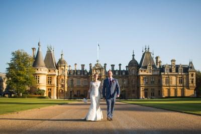 Waddesdon Manor Bride Groom