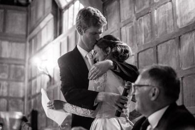 Wedding Speech Embrace