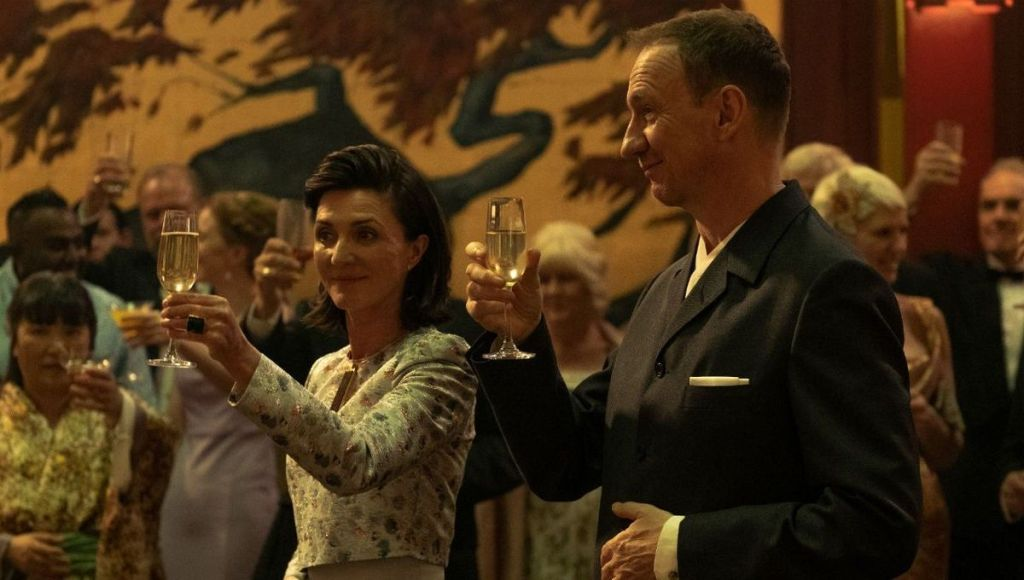 Michelle Fairley as Meredith & David Thewlis as Lawrence