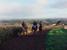 Return from Exercise at Thorne Farm Racing