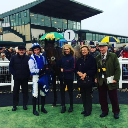 Midnight Request wins at Exeter