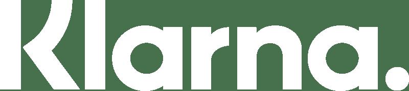 white klarna logo nigel holmes website