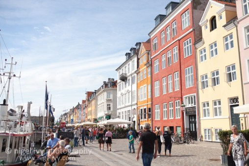 Nigel Ivy Photography - The colourful buildings in Nyhavn, Copenhagen