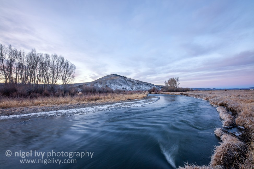 """Tomichi Creek Sunrise"" - I went out with @gunnison_colorado this morning to take some photos in a new spot I've never been before. Here's one of my favourites from this morning."