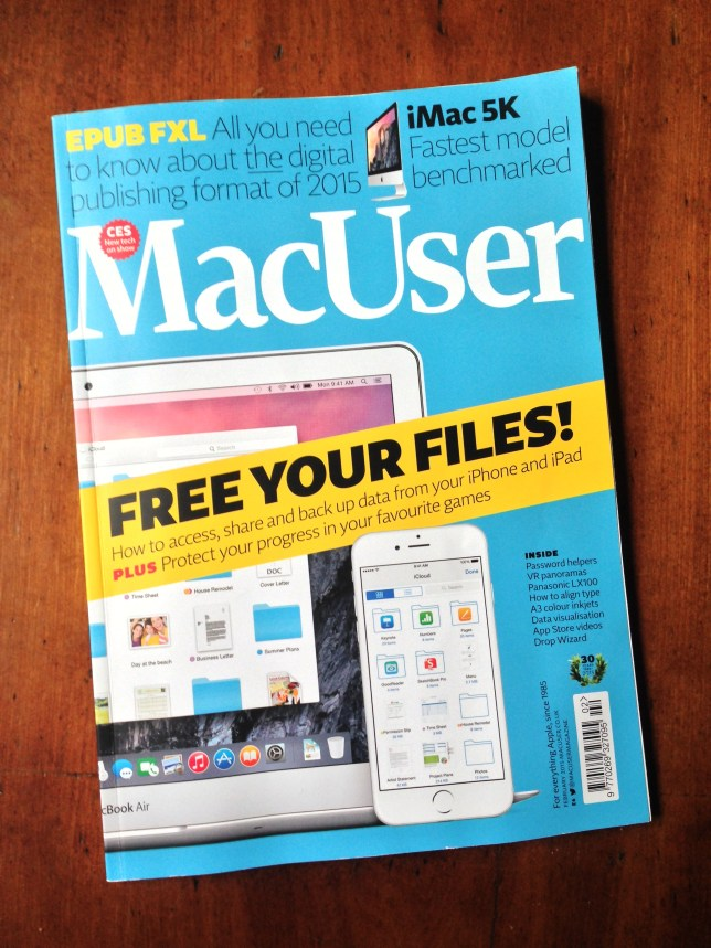 Last of the MacUsers - February 2015