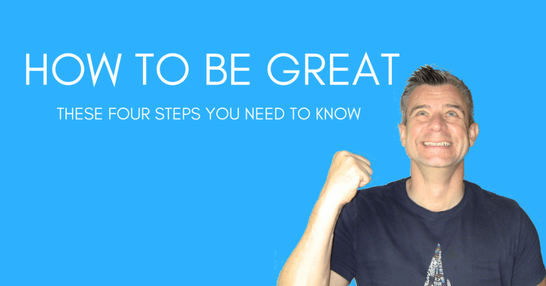 Nigel Yates Blog HOW TO BE GREAT