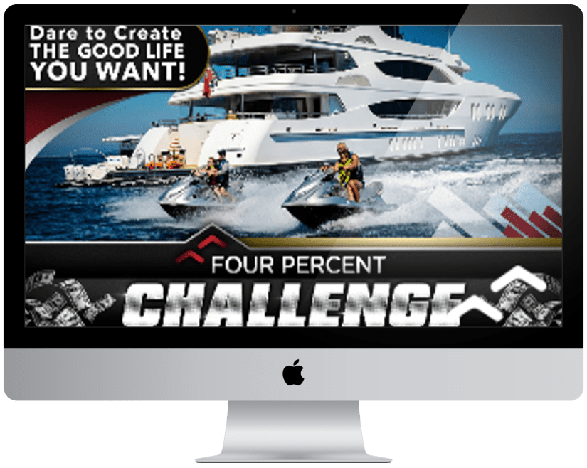 The Four Percent Challenge with Nigel Yates