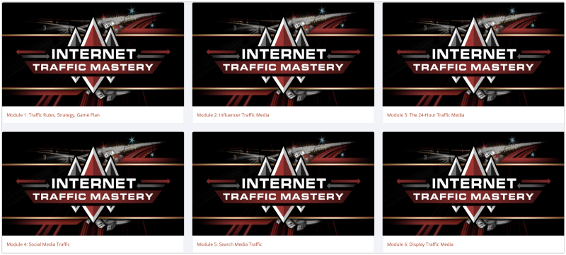 Internet Traffic Mastery Review Modules