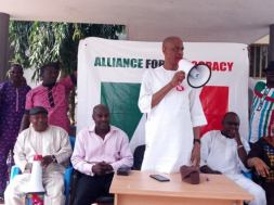Image result for Oke promises to give priority to People's welfare if elected