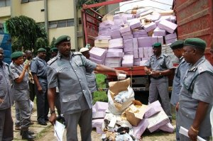 Image result for Customs seizes seven containers of Pharmaceutical products over false declaration