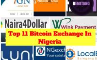 Top 11 Bitcoin Exchange In Nigeria