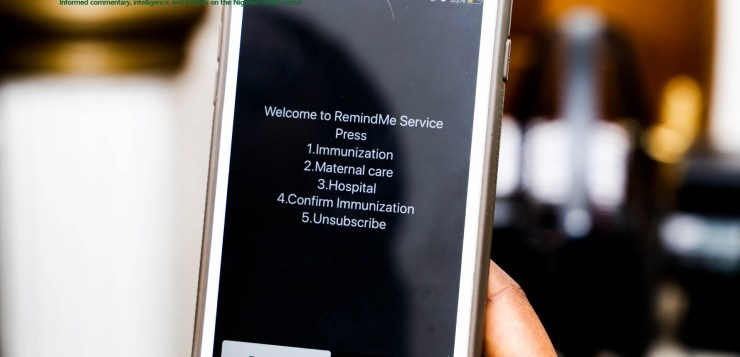Remind Me: A tech solution to improve immunisation coverage in Nigeria