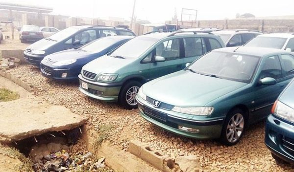Customs intercepts 55 smuggled vehicles at Seme in two months