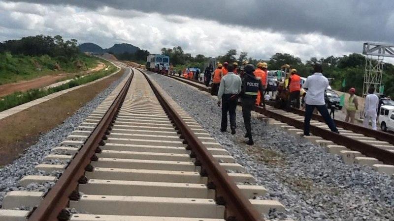 Lagos–Ibadan Rail Line 90 percent Complete – Buhari