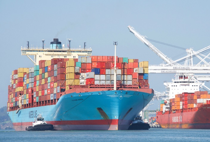 Maersk's operating results improve despite lower container demand