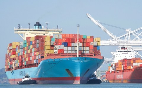 UK intelligence officers intercept Maersk Container vessel with hard drugs