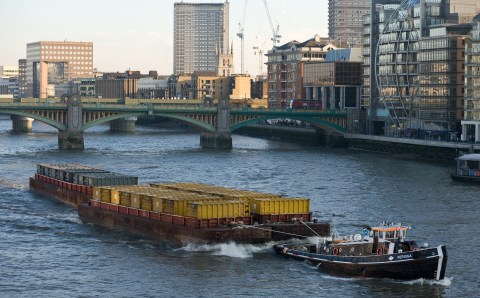 Who should regulate barge operations?
