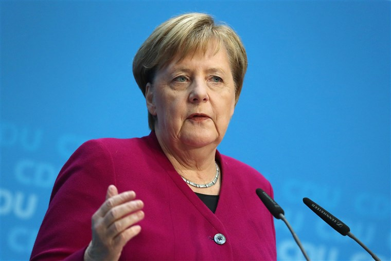 CORONAVIRUS: Merkel's comment on virus infecting most people can cause panic: Czech PM