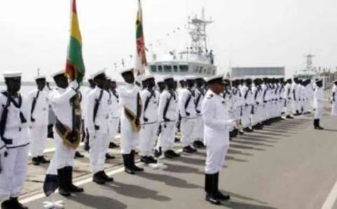 Navy vows to rid Nigeria's maritime domain of criminality