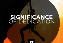 Significance of Dedication