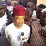 ,Shehu Sani with press