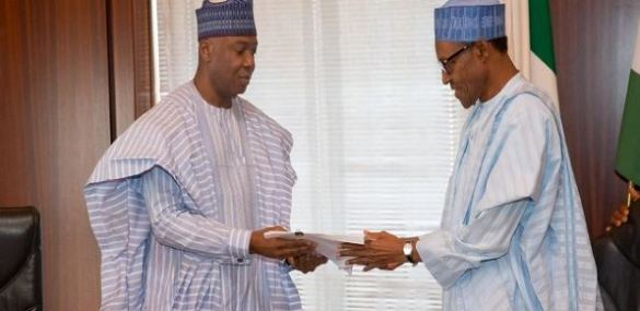 Buhari Skips Order Of Elections In Talks With Saraki, Dogara