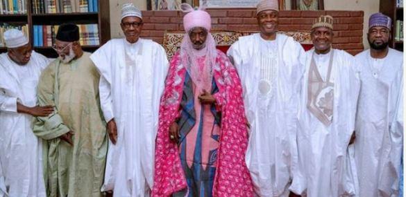 President Buhari Makes Grand Appearance At Dangote' Daughter's Wedding (Photos)