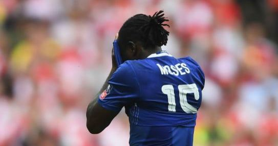 Super Eagles Forward, Victor Moses Comes Under Attack At Chelsea