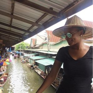 Newly Married Nollywood Actress, Zainab Balogun Shares Photos from Honeymoon in Thailand