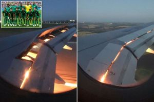 World Cup: Saudi Arabia's Team Plane Bursts Into Flames In Mid Air
