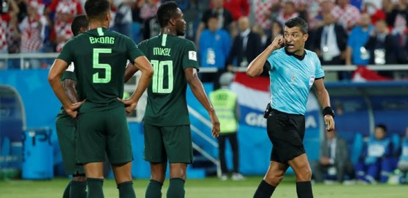 Referee Who Officiated Nigeria's Match Against Croatia Hospitalized – Report
