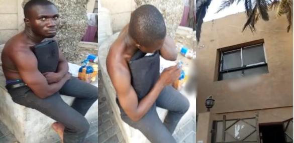 Nigerian Man Jumps From 2-Storey Building In Dubai Over Family Pressure [Photos/Video]